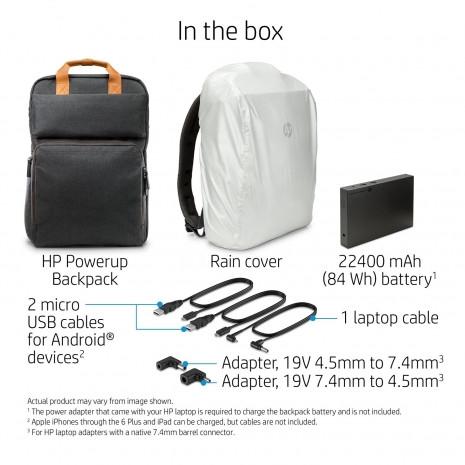 HP Powerup Sırt çantası aynı anda bütün cihazları şarj edebiliyor - Page 2