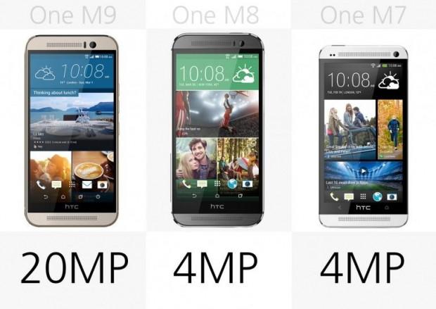 HTC One M9 - One M8 - One M7 karşılaştırması - Page 4