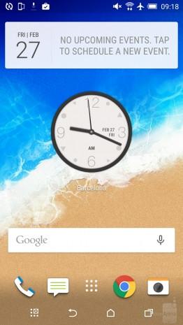 HTC One M9'un arayüzü Sense 7 - Page 1