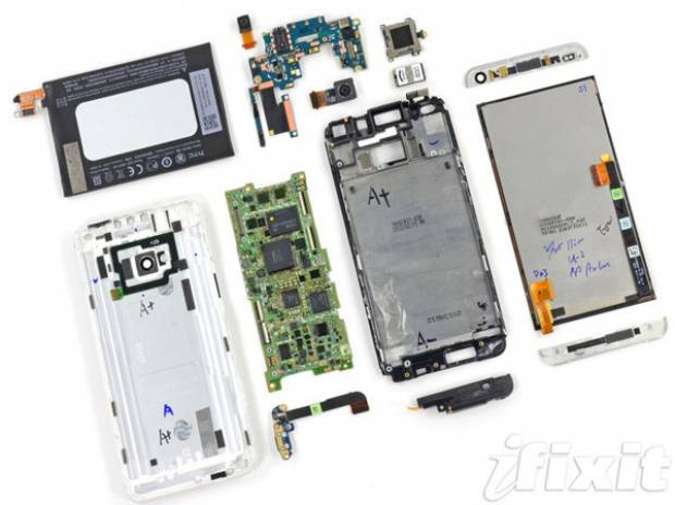 HTC One'yi tamir etmek tam bir işkence! - Page 1