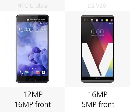 HTC U Ultra ve LG V20 karşılaştırma - Page 3