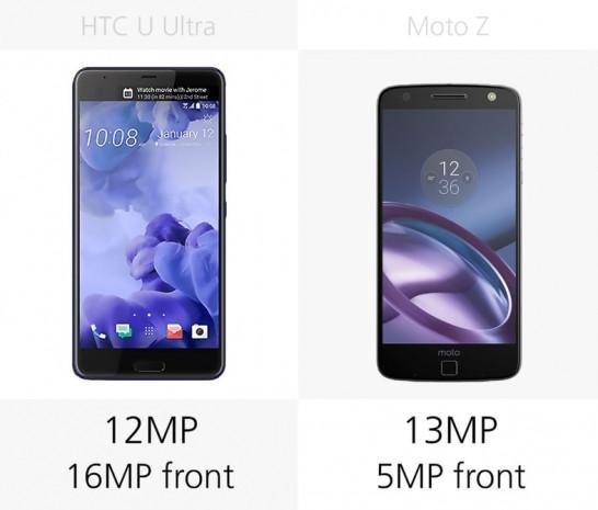 HTC U Ultra ve Moto Z karşılaştırma - Page 3