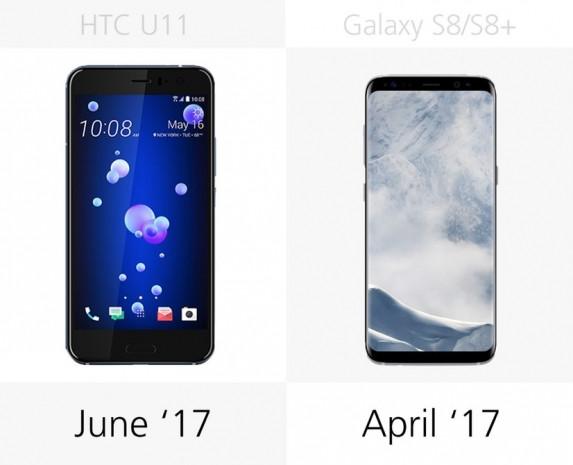 HTC U11'e karşı Samsung Galaxy S8 ve S8 + - Page 1