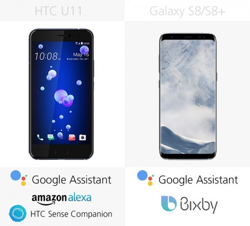 HTC U11'e karşı Samsung Galaxy S8 ve S8 + - Page 2