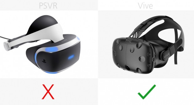 HTC Vive ve Sony PlayStation VR karşılaştırma - Page 3
