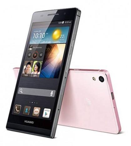 Huawei Ascend P6 ürün görselleri - Page 1