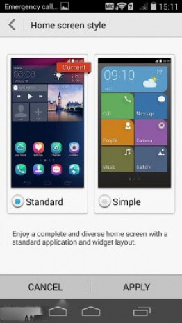 Huawei Ascend P7 ekran görüntüleri - Page 2