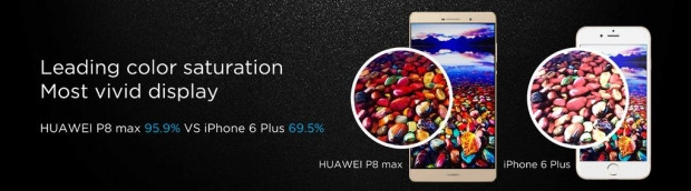 Huawei P8 Max'ı 6.8-inç ekran ve ince yapı ile duyurdu - Page 1
