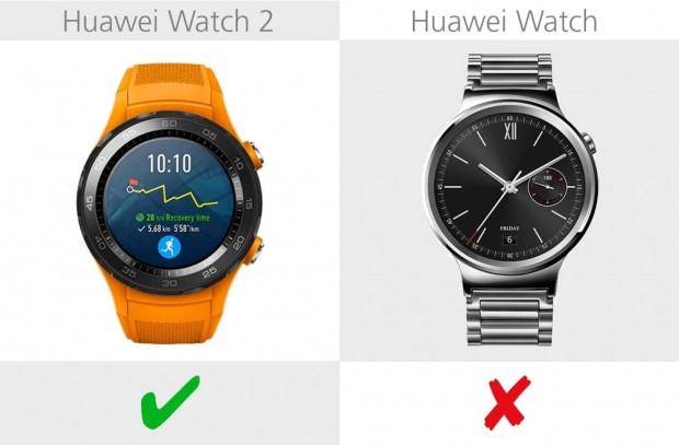 Huawei Watch 2 ve Huawei Watch karşılaştırma - Page 3