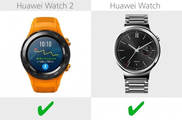 Huawei Watch 2 ve Huawei Watch karşılaştırma - Page 4