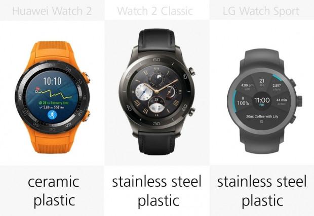 Huawei Watch 2 ve LG Watch Sport karşılaştırma - Page 3