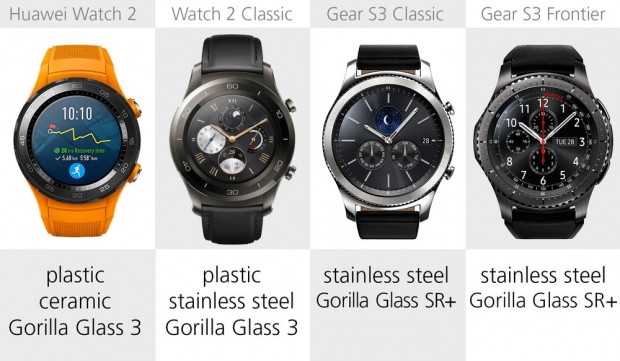 Huawei Watch 2 ve Samsung Gear S3 karşılaştırma - Page 2