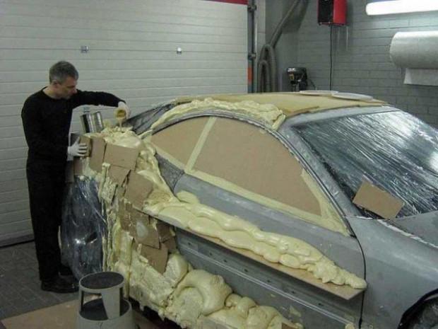 Hurda Mercedesten lüks otomobil yaptı - Page 3