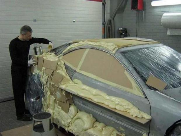 Hurda olarak aldığı Mercedes-Benz CLK-Class'ı baştan sona değiştirdi - Page 4
