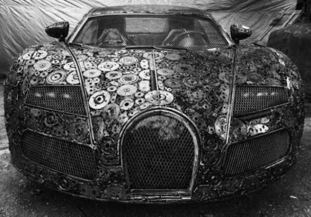 Hurdalıklardan topladığı metallerden otomobil yaptı - Page 3