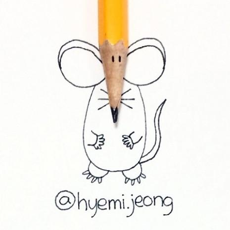 Hyemi Jeong'dan 18 yaratıcı çizim - Page 2