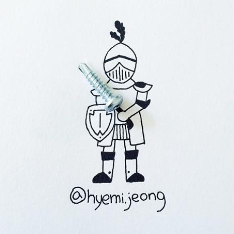 Hyemi Jeong'dan 18 yaratıcı çizim - Page 3