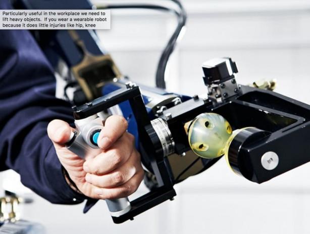 Hyundai iskelet robotunu sergiledi - Page 1