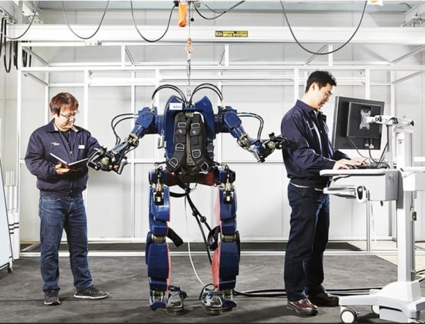 Hyundai iskelet robotunu sergiledi - Page 2