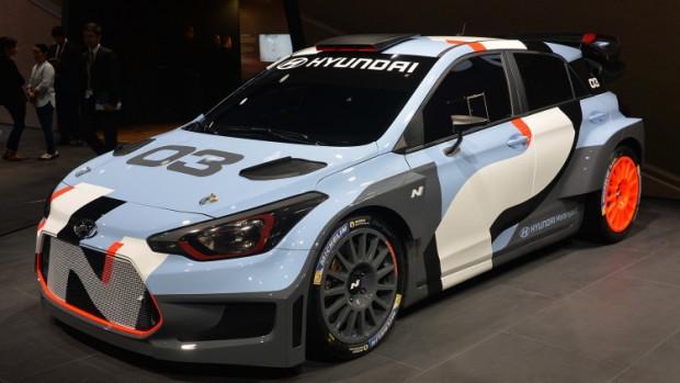 Hyundai'nin, 2017 FIA'da kullanacağı i20 Coupe WRC yarış otomobili - Page 1
