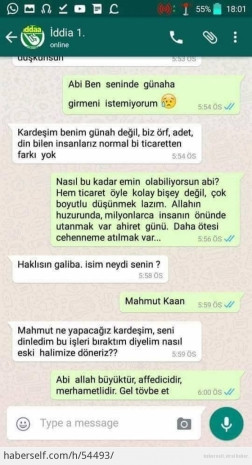İddaa dolandırıcısı, WhatsApp'ta imana geldi! - Page 4