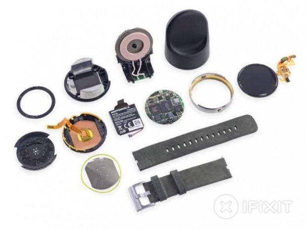 iFixit, Motorola Moto 360'ı parçaladı! - Page 4