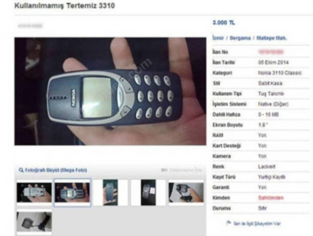 İkinci el araba fiyatına satılan eski telefonlar - Page 2