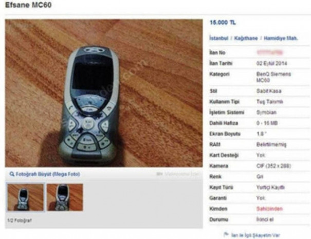 İkinci el araba fiyatına satılan eski telefonlar - Page 4