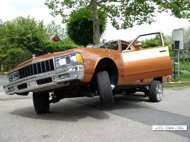 İlginç modifiyeli otomobiller