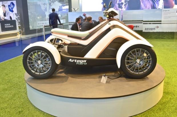 İlk elektrikli ATV aracı Artega Karo - Page 1