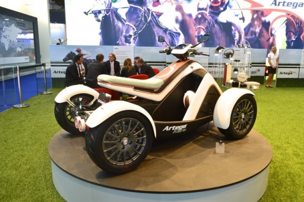 İlk elektrikli ATV aracı Artega Karo - Page 2
