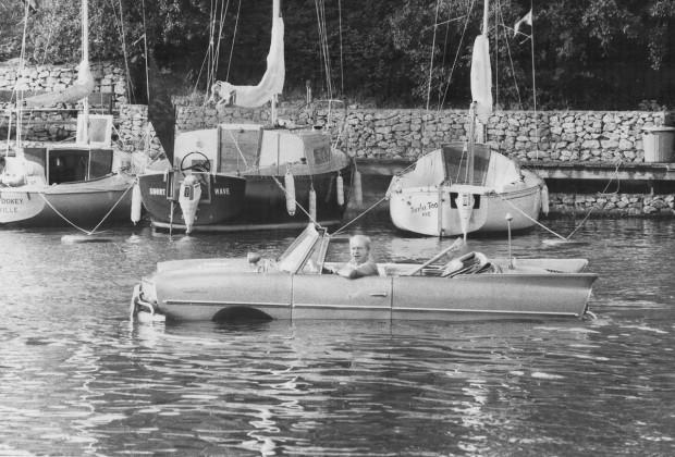İlk yüzen otomobil 1960'lar da yapılmış! - Page 3