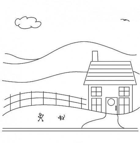 İlkokulda resim dersinde çizilen bahçe içindeki Ev ile ilgili 11 bilgi - Page 2