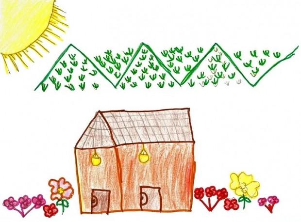 İlkokulda resim dersinde çizilen bahçe içindeki Ev ile ilgili 11 bilgi - Page 3