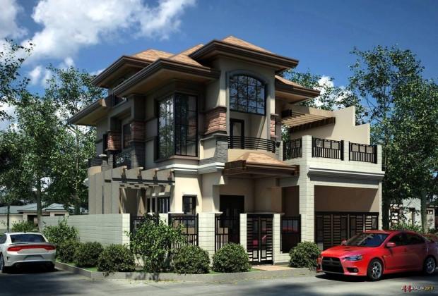 İnanılmaz çizimlere sahip en güzel evler - Page 2