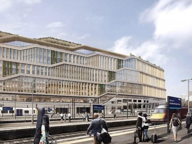 İnternet devi Google'ın Londra merkez binası - Page 1