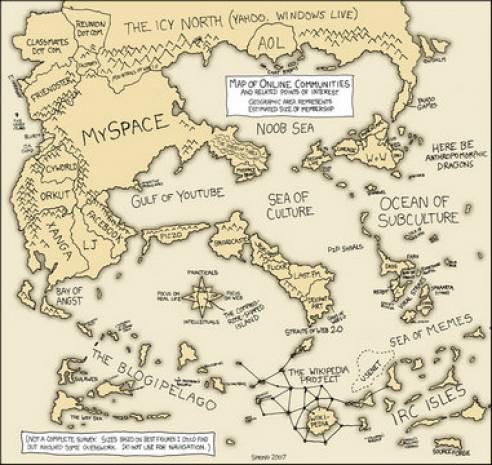 İnternet dünyası haritalara sığdırılırsa... - Page 3