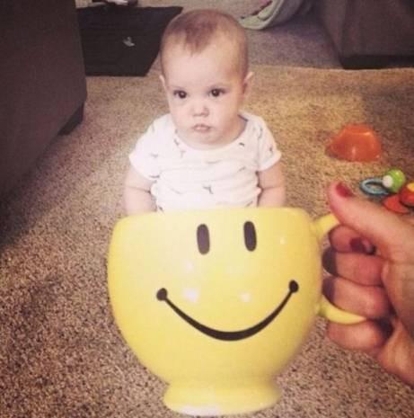 İnternet'in son modası fincanda bebekler - Page 2