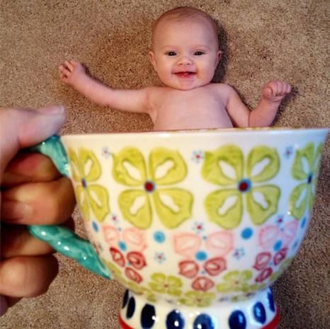 İnternet'in son modası fincanda bebekler - Page 3