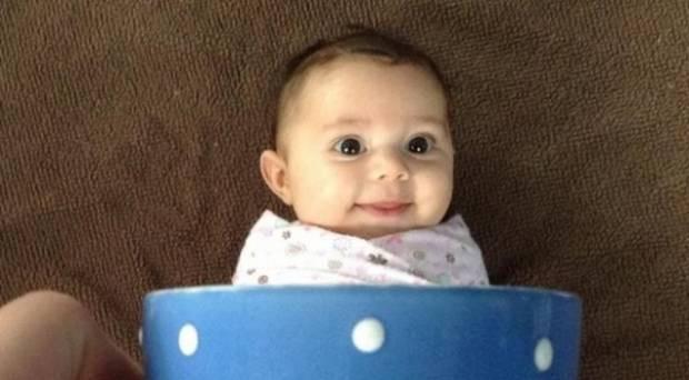 İnternet'in son modası fincanda bebekler - Page 4