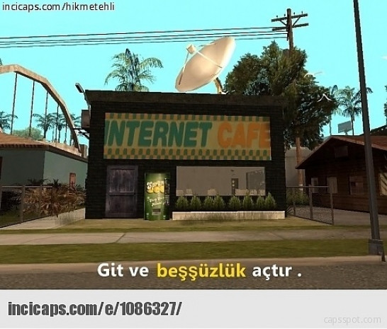 İnternetten GTA'daki görevlerle ilgili yapılmış birbirinden yaratıcı 18 caps - Page 1