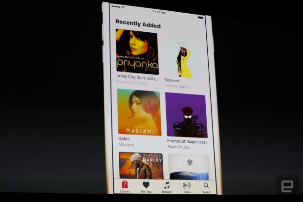 iOS 10 için Apple Müzik yeniden tasarlandı - Page 3