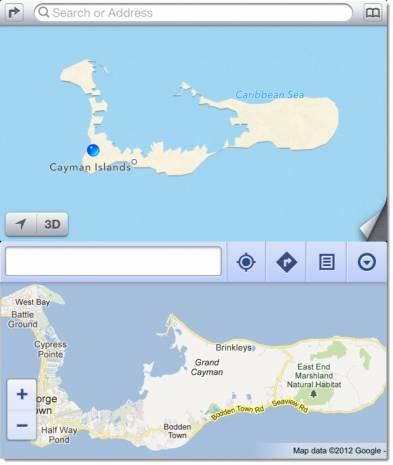 iOS 6'nın haritası tam bir fiyasko oldu! - Page 1