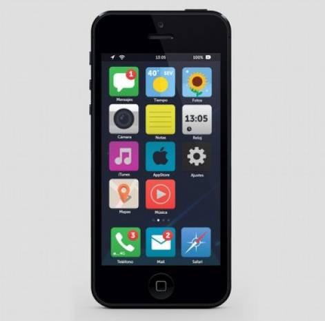 iOS 7 için 8 başarılı konsept - Page 1