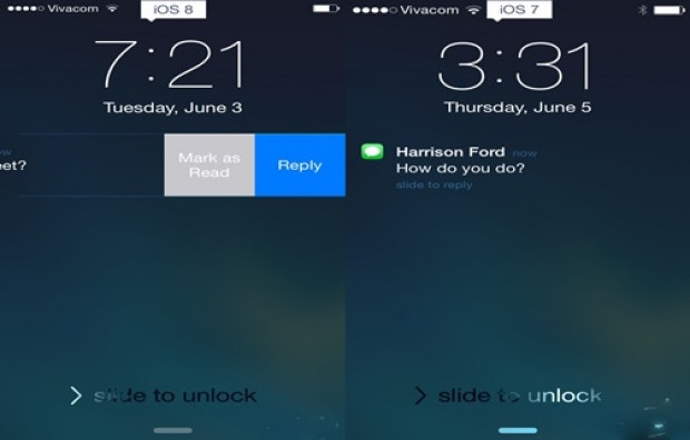 iOS 7 ve iOS 8, karşılaştırma! - Page 1