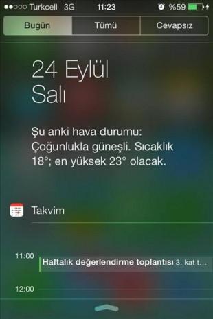 iOS 7'de hava durumu düzenleme - Page 3
