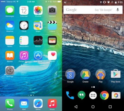 iOS 9 - Android M karşılaştırması - Page 2