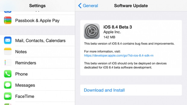 iOS 9 Beta 3 sürümü yayınlandı - Page 1
