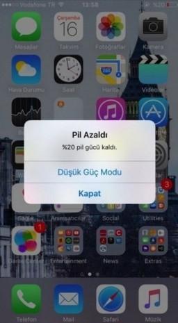 iOS 9 ile birlikte şarj sorunu nasıl çözülür? - Page 1