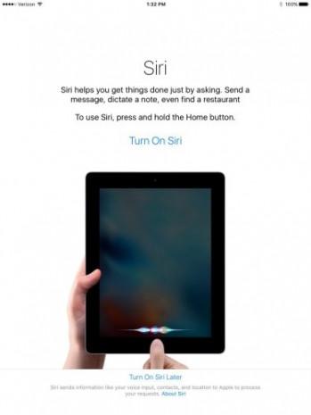 iOS 9 iPad ekran görüntüleri - Page 1